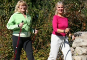 Physical Benefits research with walking poles