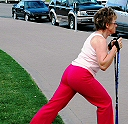 Rehab Recovery research for walking with poles