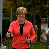 Cheryl uses walking poles for Pain Free or Reduced